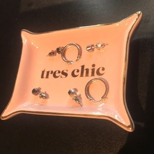 Accessories - Tres Chic Earring/Ring Tray